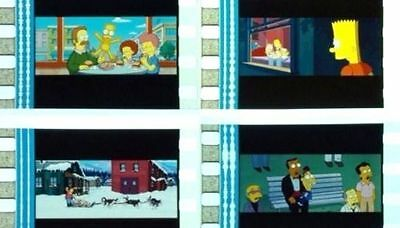 The-Simpsons-Movie-Film-Cell-Lot-Of-30-Collectible-Dvd-Movie-Free-Shipping