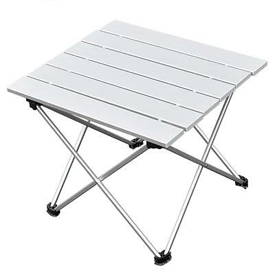 Aluminum Folding Table Portable Roll Up Table Folding Camping Outdoor Indoor *