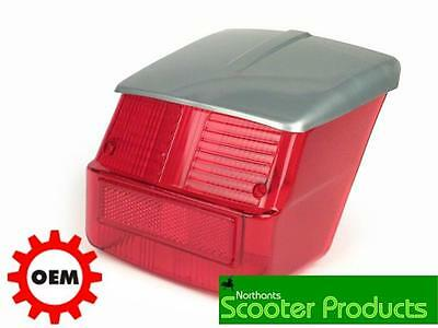 Quality Vespa Rally 180 200 Rear Light Unit Grey Top /gasket Included