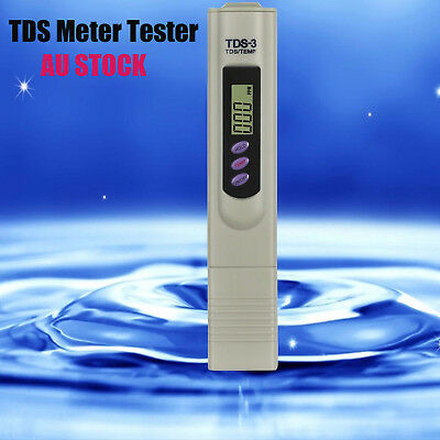 Digital TDS-3 Water Quality Purity Tester Pen Salinity Meter Stick Analysis Tool