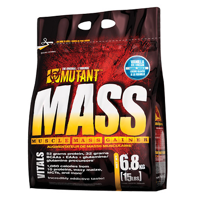 Mutant Mass 2.2Kg/6.8Kg Weight Gainer Muscle Mass Whey Protein All Flavors