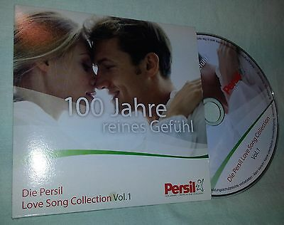 CD Love Song Collection Vol.1 - Persil Werbe Sampler