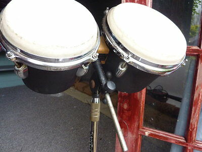 Bongos on stand Small Tom toms
