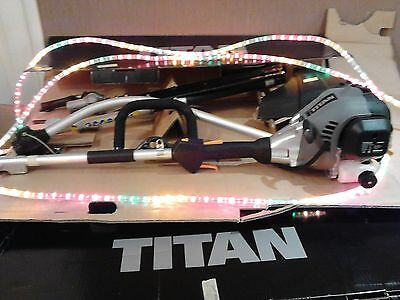 TITAN 2 in 1 hedge trimmer strimmer petrol very good used condition