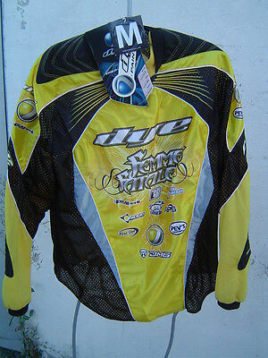 Jersey Dye Team Femme Fatal Collector Taille M Jaune