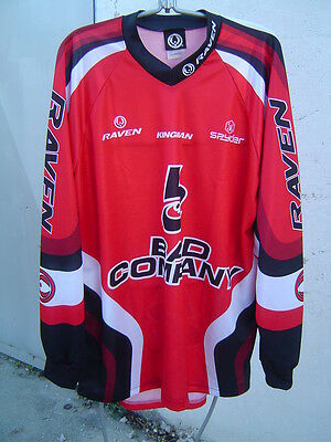 Jersey Paintball Moto Cross Quad Ect Neuf Marque Raven Rouge  Xl