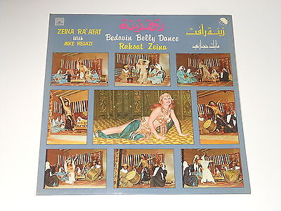 Raksat Zeina - LP - Bedouin Belly Dance - Mike Hegazi - Emi GVDL 342
