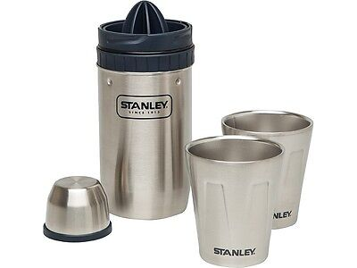 Stanley Happy Hour System, Shaker 18/8 steel, 2 stainless steel cups, juicer