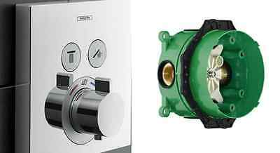 Hansgrohe ShowerSelect Thermostatic mixer for 2 outlets - 15763000 + ibox