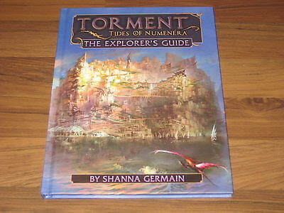 Torment Tides of Numenera Explorer's Guide HC Monte Cook Games 2016 New Neu