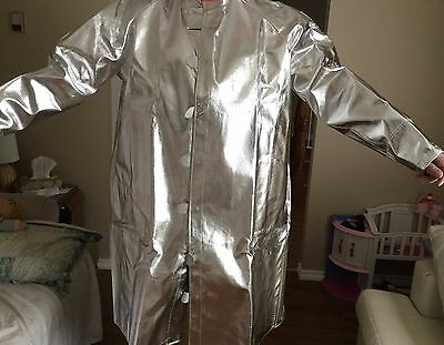 "NEW Aluminized NORFAB  Coat 900-11 50"" Long 7XL"