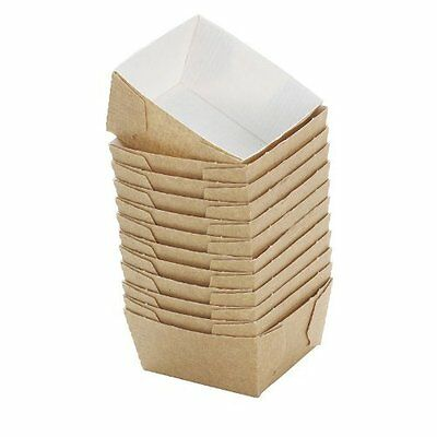 200 Bakery Direct Square Mini Loaf Card Disposable Baking Moulds/cases*freepost*