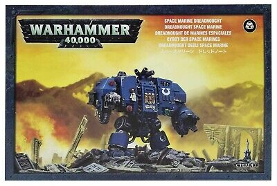Space Marine Dreadnought New Warhammer 40k Citadel 40000 Games Workshop