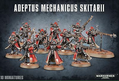 Adeptus Mechanicus Skitarii New Warhammer 40k Citadel 40000 Games Workshop