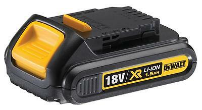 DeWalt DCB181 18v 18 v volt XR Li-Ion 1.5Ah Battery **BRAND NEW UK MODEL**