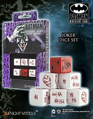 Joker Dice Set Knight Models Batman Miniatures Game DC Comics New