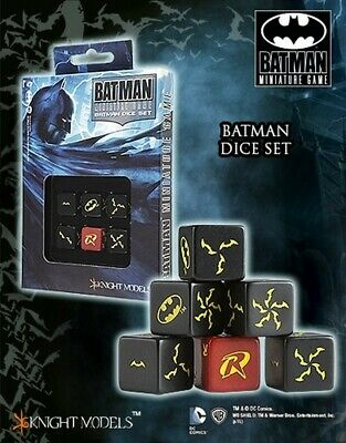 Batman Dice Set Knight Models Batman Miniatures Game DC Comics New