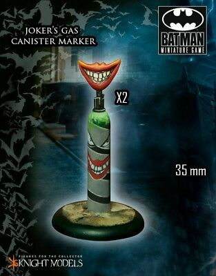 Jokers Gas Canister Objective Marker Knight Models Batman Miniatures Game DC New