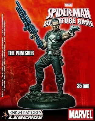 The Punisher Knight Models Marvel Miniatures Game New