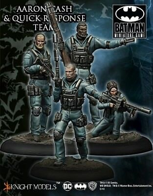 Aaron Cash And Quick Response Team Knight Models Batman Miniatures Game DC New