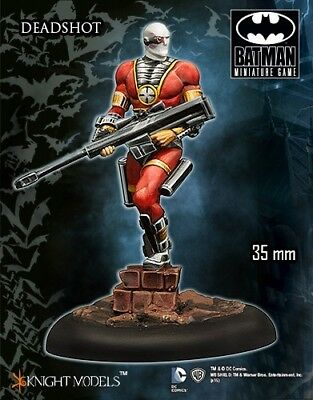 Deadshot Classic Costume Knight Models Batman Miniatures Game DC Comics New
