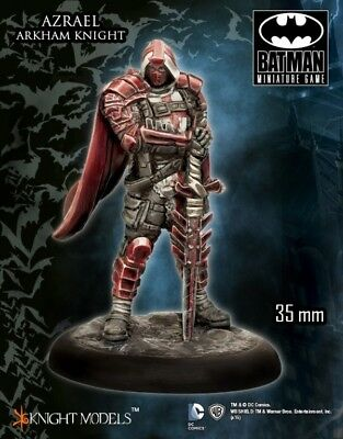 Azrael Arkham Knight Knight Models Batman Miniatures Game DC Comics New