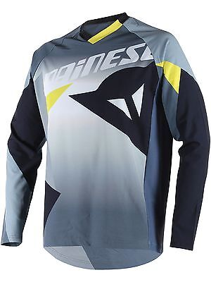 Jersey MTB de manga larga Dainese 2016 Hucker Cut And Paste Gris
