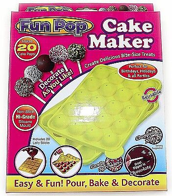 Mould Baking Tray Lollipop Chocolate Silicone Cake Making Fun Party Decoration