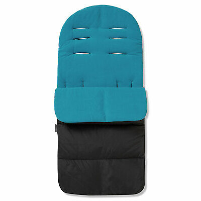 Footmuff / Cosy Toes For Out N About Nipper Single 360 Pushchair Ocean Blue