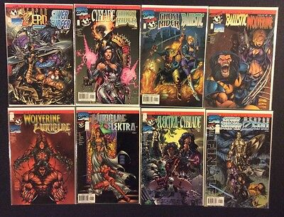 DEVIL'S REIGN #1 - 8 Comic Books FULL SERIES Top Cow/Marvel Crossover Image 1997