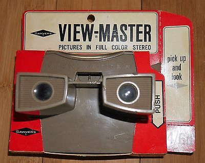 * BOXED * VINTAGE SAWYER'S VIEW-MASTER VIEWER ORIGINAL 1960's MODEL G RARE RETRO
