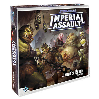 Star Wars Imperial Assault Jabbas Realm Expansion Board Game NEW