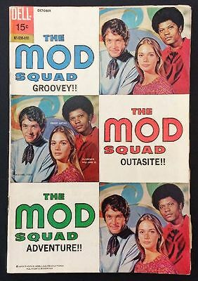 THE MOD SQUAD Comic Book, Issue 3, 1969