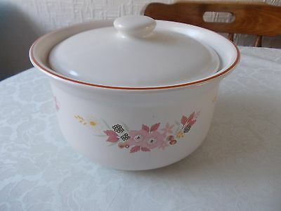 Boots hedge rose casserole dish