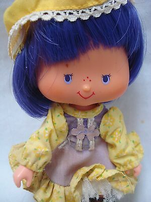 Vtg Kenner 80s Strawberry Shortcake DOLL & CLOTHES Lot ALMOND TEA Party Pleaser