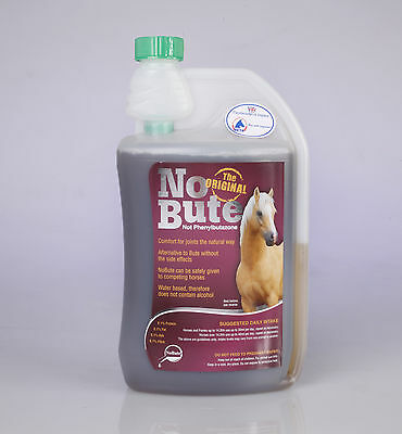 NO BUTE Devils Claw ARTHRITIS supplement NOBUTE 1, 2.5, 5 Litre