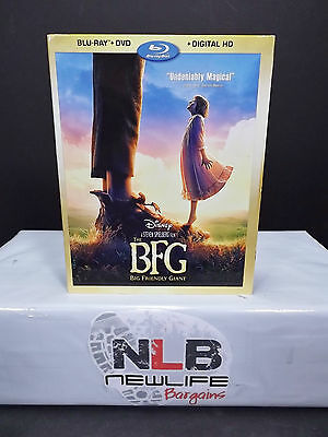 THE BFG Big Friendly Giant Blu ray Slip Cover NO MOVIE(Collector's Item