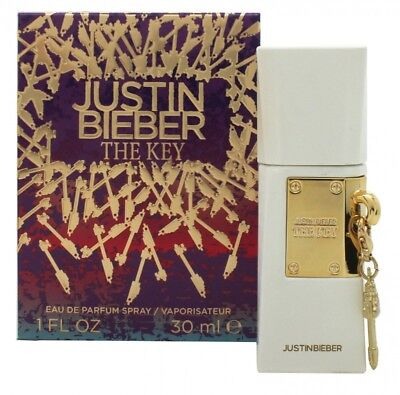 Justin Bieber The Key Eau De Parfum 30Ml Spray Für Sie. Neu