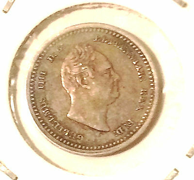 1835 WILLIAM  IIII   SILVER  TWO PENCE  gq6