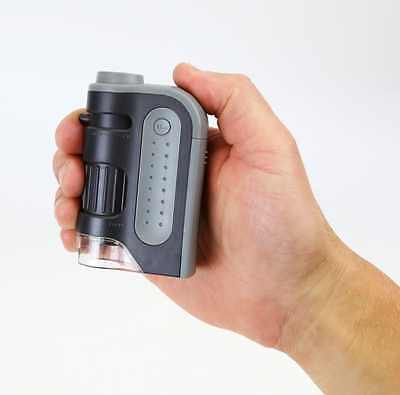 Pocket Microscope 60x-120x LED Lighted Top Quality By Carson