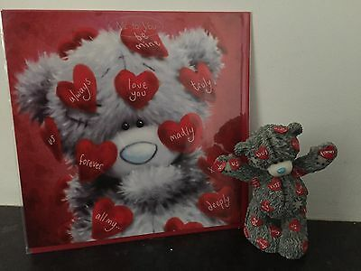 Extremely Rare - Love Notes - Me To You Figurine & Free Matching Valentine Card