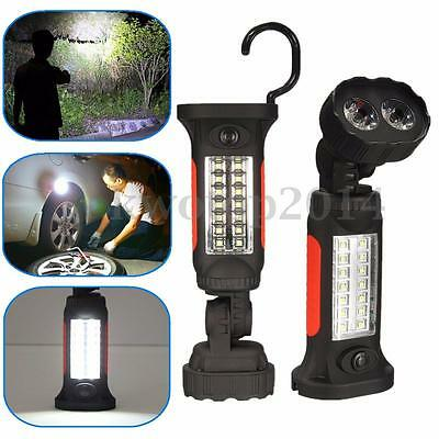 LED SMD Hook Light Flashlight Work Lamp with Magnetic Hand Torch Camping Hiking