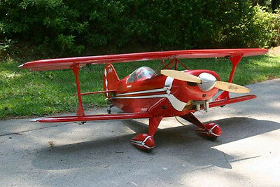 1/4 Scale Pitts Special Giant Scale RC AIrplane Printed Plans & Templates