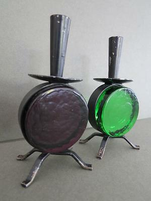 Vintage Swedish Erik Hoglund Candle Holders