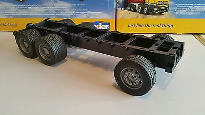 Bruder 6x4 bare chassis, suit Tamiya/Wedico 1/14, 1/16  RC conversion.