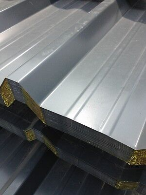 Box Profile Metal/ Steel Roofing Sheets Slate Blue/Grey Polyester coated