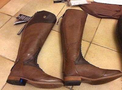 Mountain Horse Sovereign Boots Size 39 Brown Regular Wide