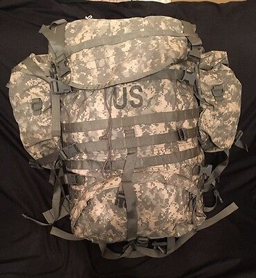 MOLLE II ACU Large Rucksack Field Pack Complete w/ Frame & Sustainment Pouch USA