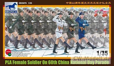 BRONCO CB35076 PLA Female Soldier National Day Parade 1:35