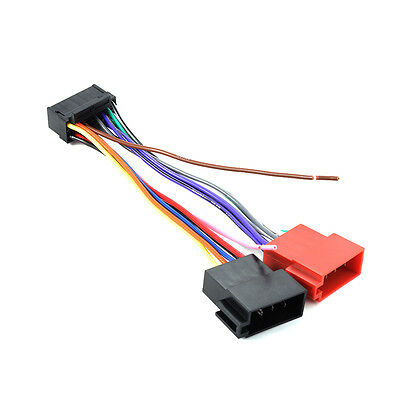 16 Pin ISO Wiring Harness Connector Adaptor Loom for Sony Car Stereo Radio MA716
